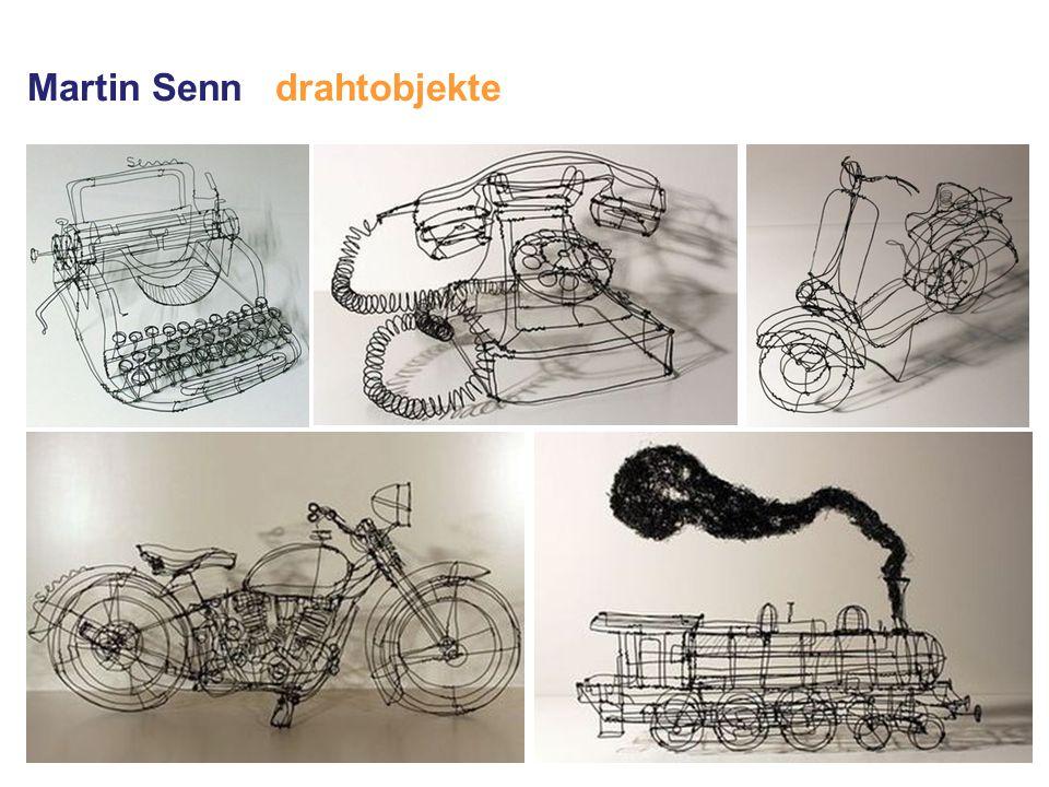 Martin Senn drahtobjekte