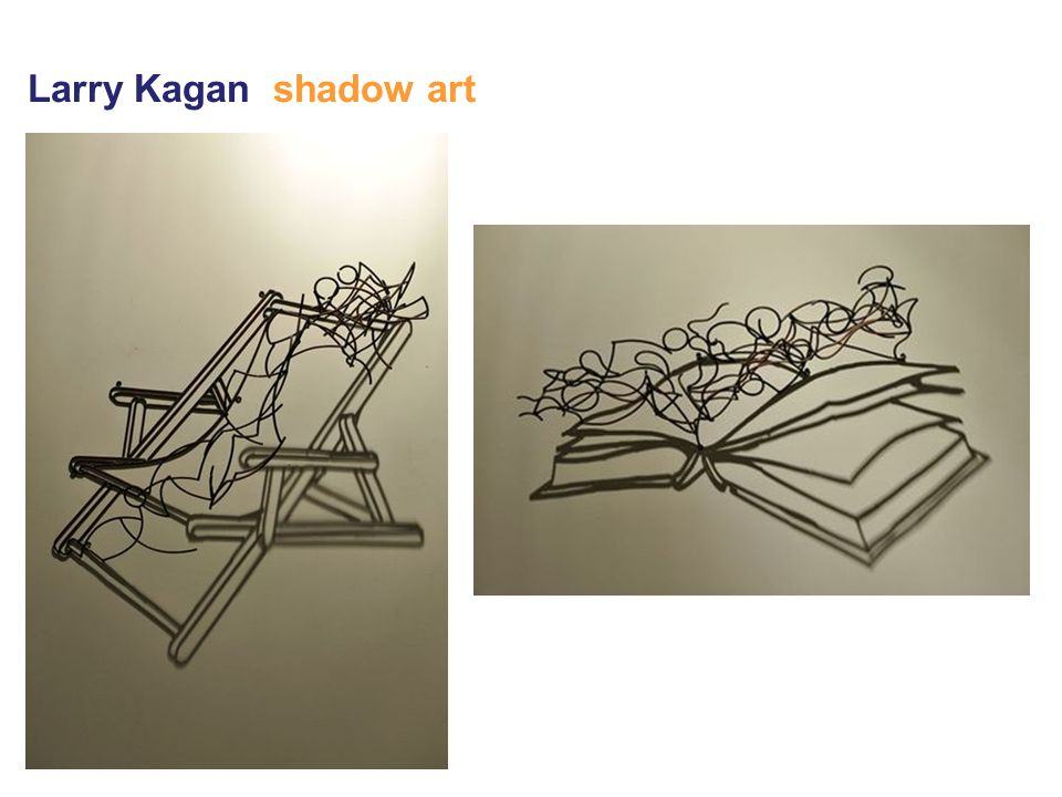 Larry Kagan shadow art