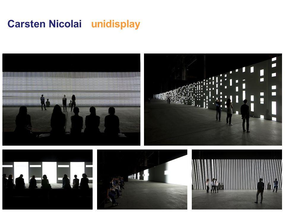 Carsten Nicolai unidisplay