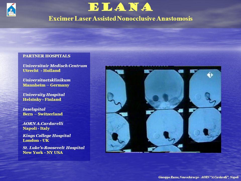 ELANA Excimer Laser Assisted Nonocclusive Anastomosis PARTNER HOSPITALS Universitair Medisch Centrum Utrecht - Holland Universitaetsklinikum Mannheim