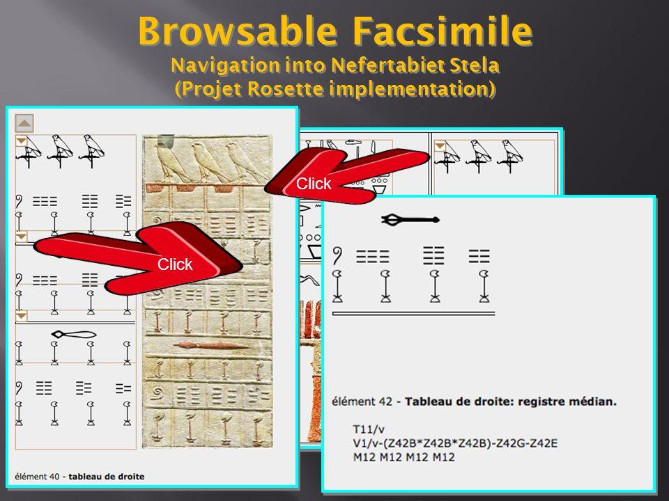 Browsable Facsimile Astronomic ceiling - Ramesseum (projet Rosette implementation)