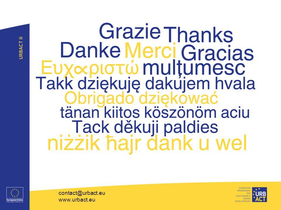 contact@urbact.eu www.urbact.eu