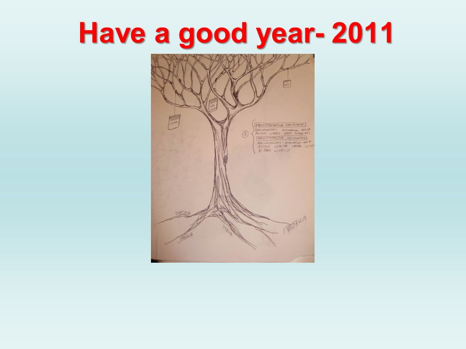 Have a good year- 2011