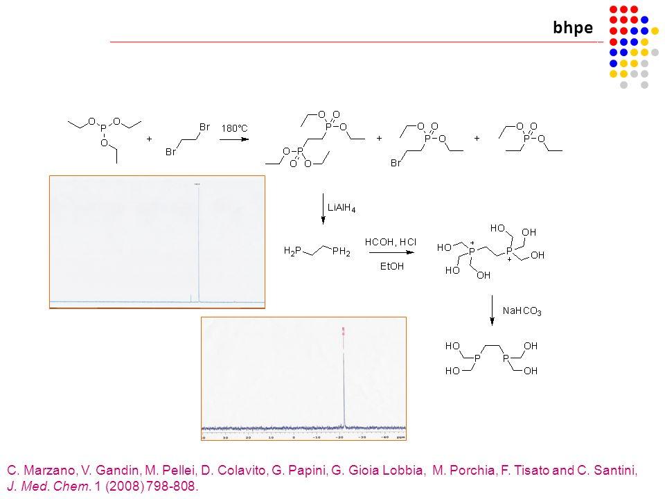 bhpe C. Marzano, V. Gandin, M. Pellei, D. Colavito, G. Papini, G. Gioia Lobbia, M. Porchia, F. Tisato and C. Santini, J. Med. Chem. 1 (2008) 798-808.