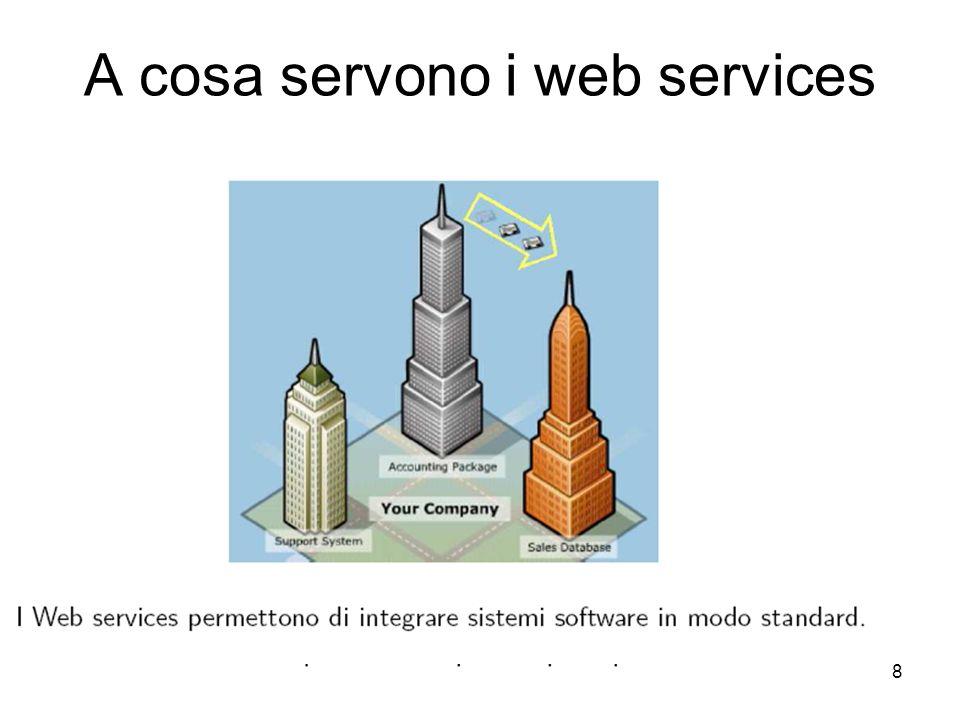 8 A cosa servono i web services