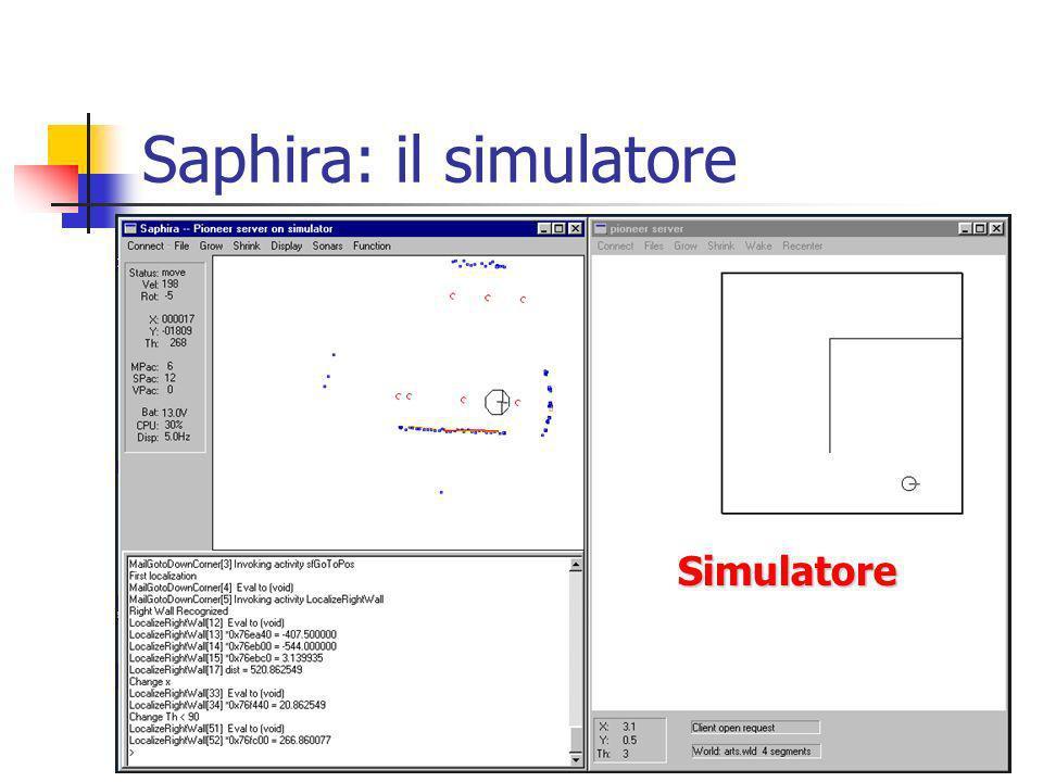 Saphira: il simulatore Simulatore