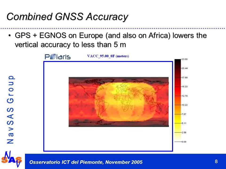 N a v S A S G r o u p Osservatorio ICT del Piemonte, November 2005 19 Thank you!