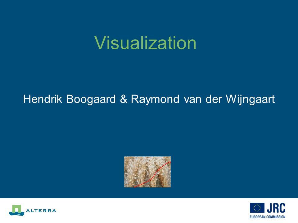 Visualization Hendrik Boogaard & Raymond van der Wijngaart