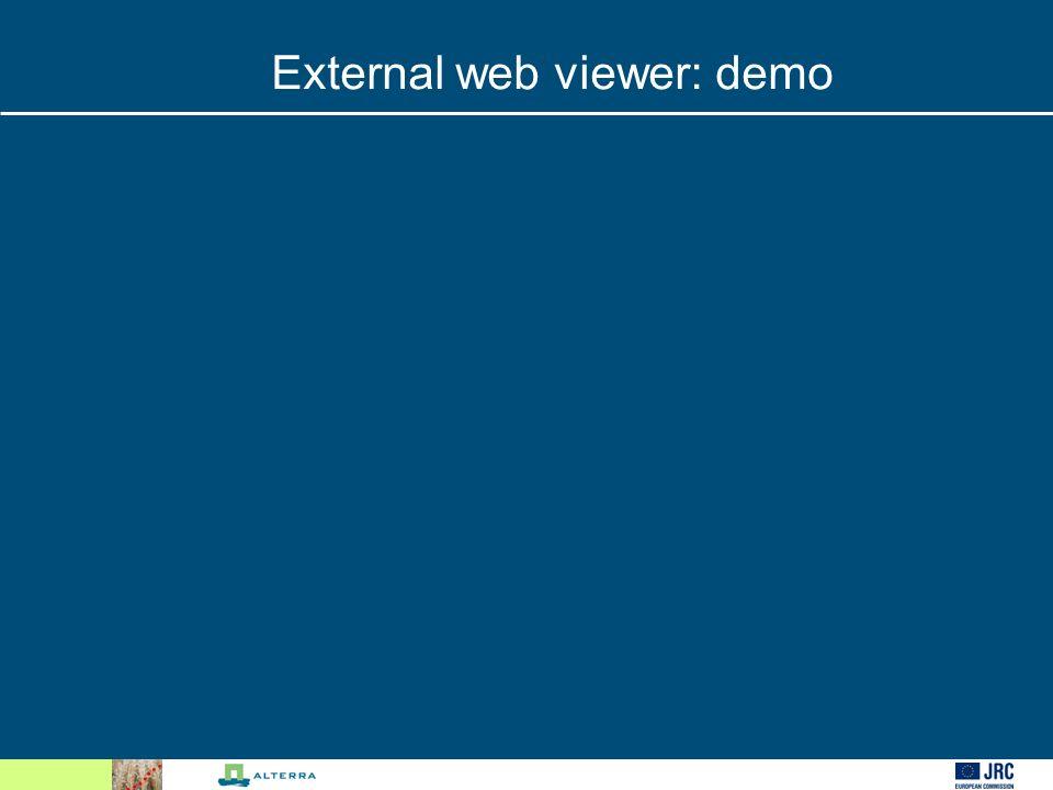 External web viewer: demo