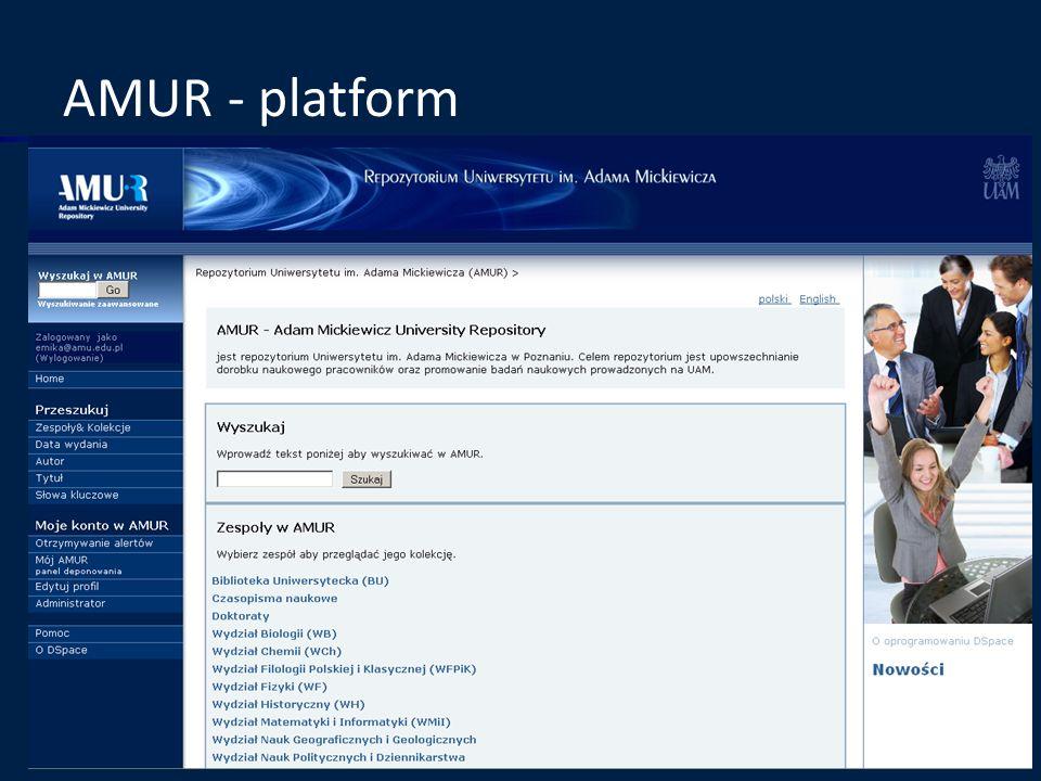 AMUR - platform