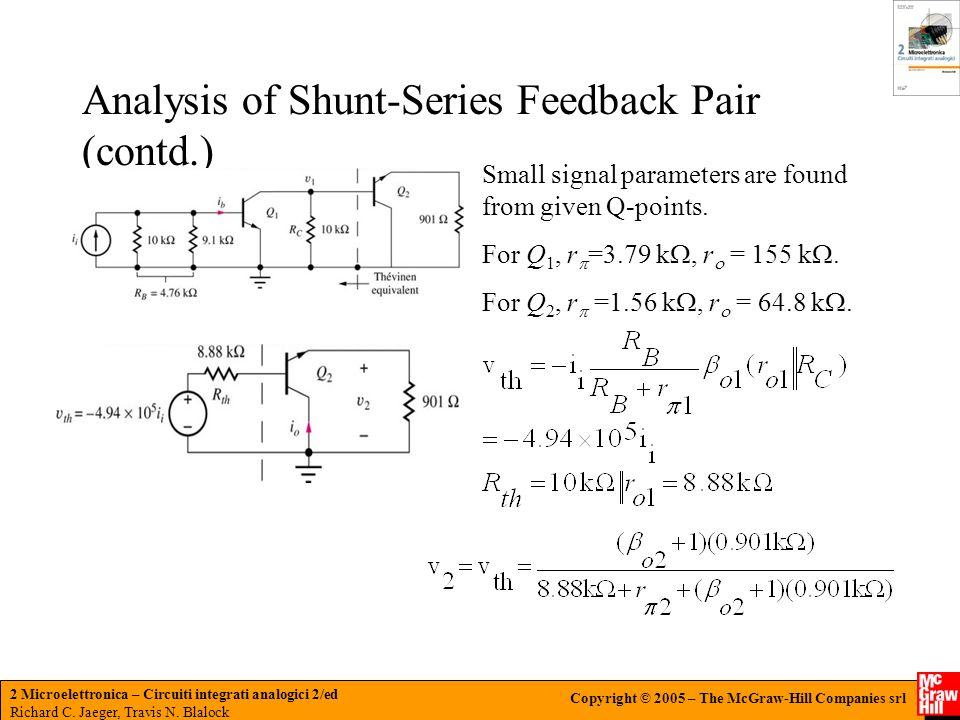 2 Microelettronica – Circuiti integrati analogici 2/ed Richard C.
