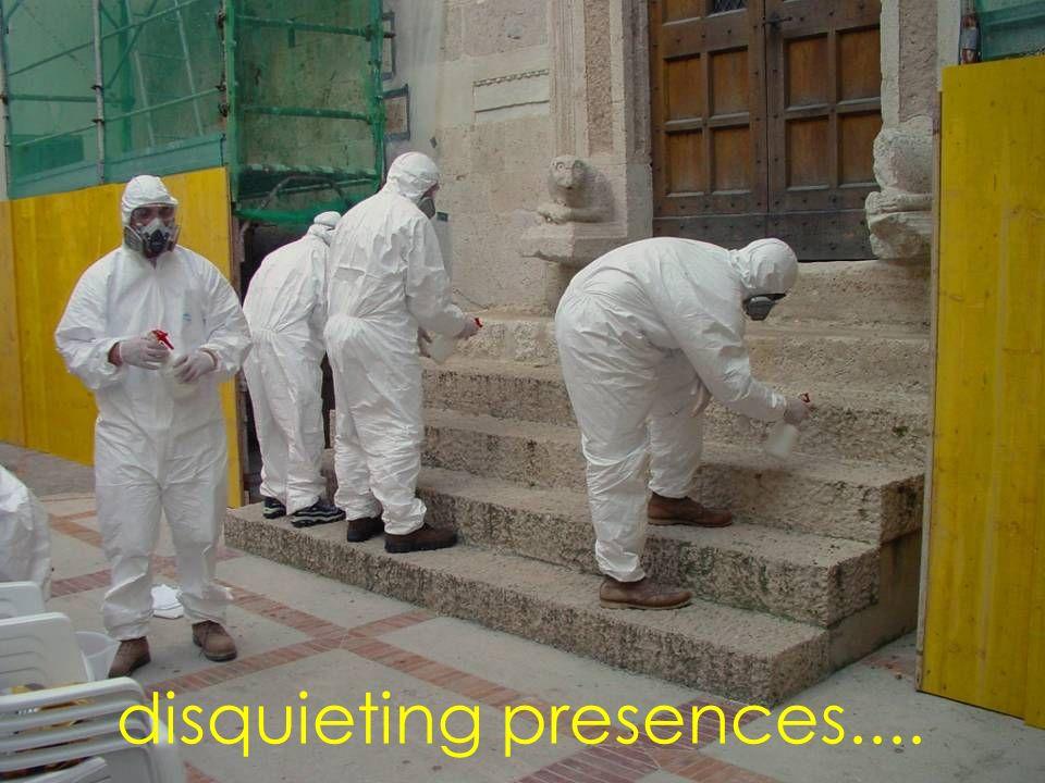 disquieting presences....