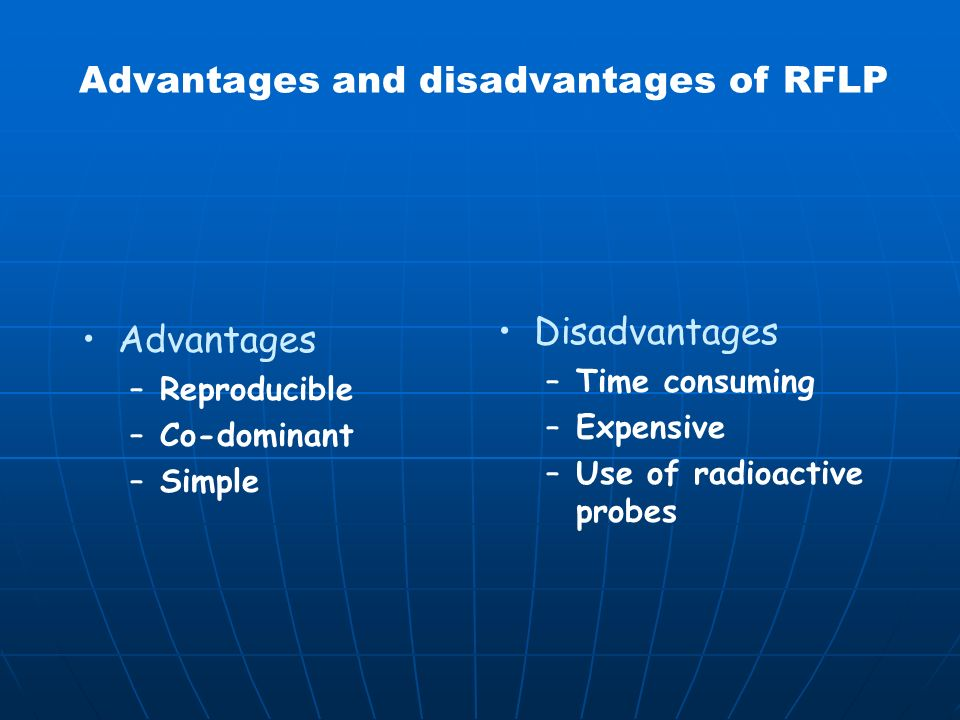 362 6 12435 45 1 MFG RFLP Polymorphisms interpretation