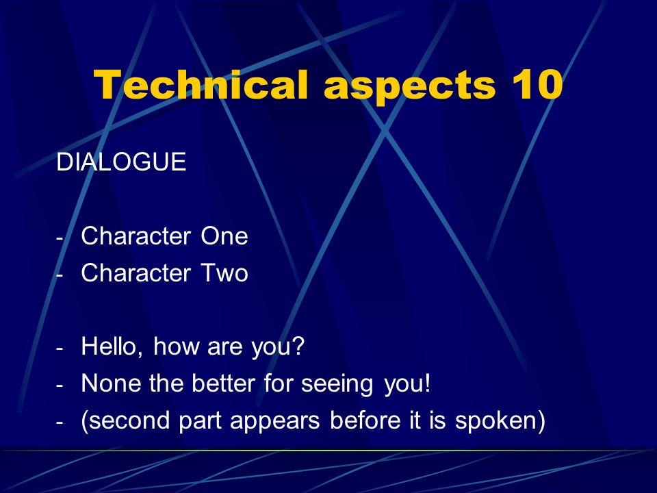 Technical aspects 9a (from CARO DIARIO) Non sapeva niente: come poteva immaginarsi che il giorno dopo per lui sarebbe cambiata la vita? He didnt know