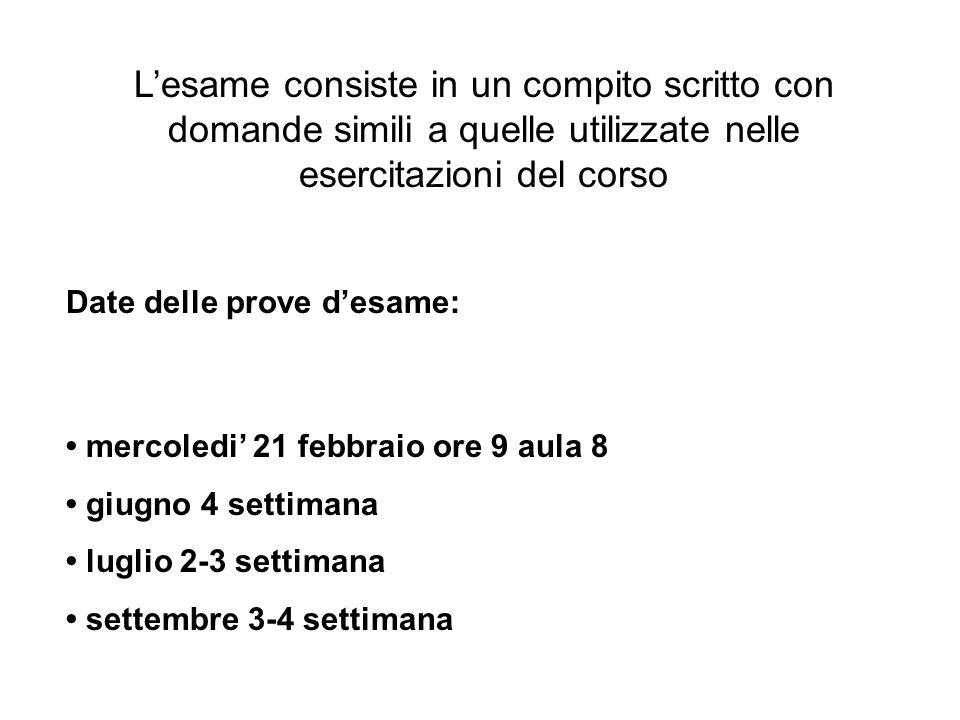 Testi consigliati: file di ppt al sito http://www.unisi.it/oliviero_lab/http://www.unisi.it/oliviero_lab/ >teaching > Biologia Molecolare (Coordinatore Prof.