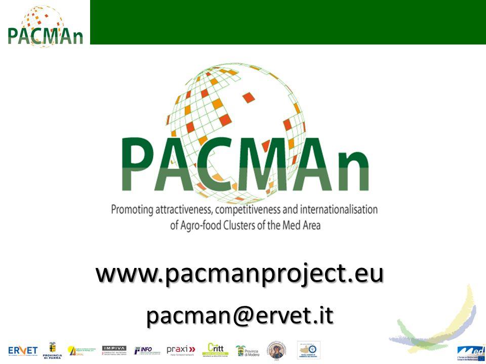 www.pacmanproject.eupacman@ervet.it