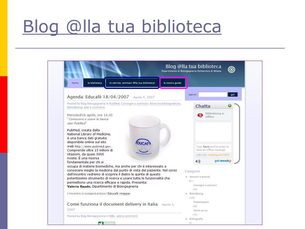 Blog @lla tua biblioteca