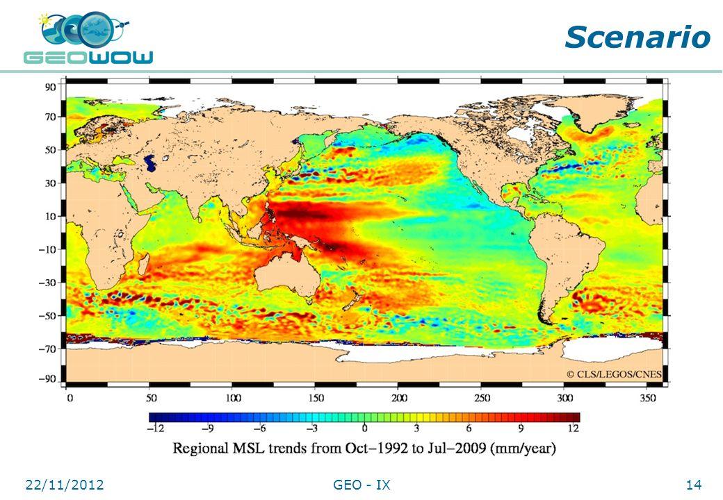 Digital Earth Communities Scenario 22/11/201214GEO - IX