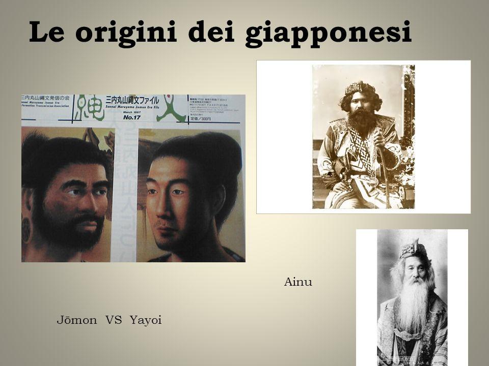 Le origini dei giapponesi Jōmon VS Yayoi Ainu