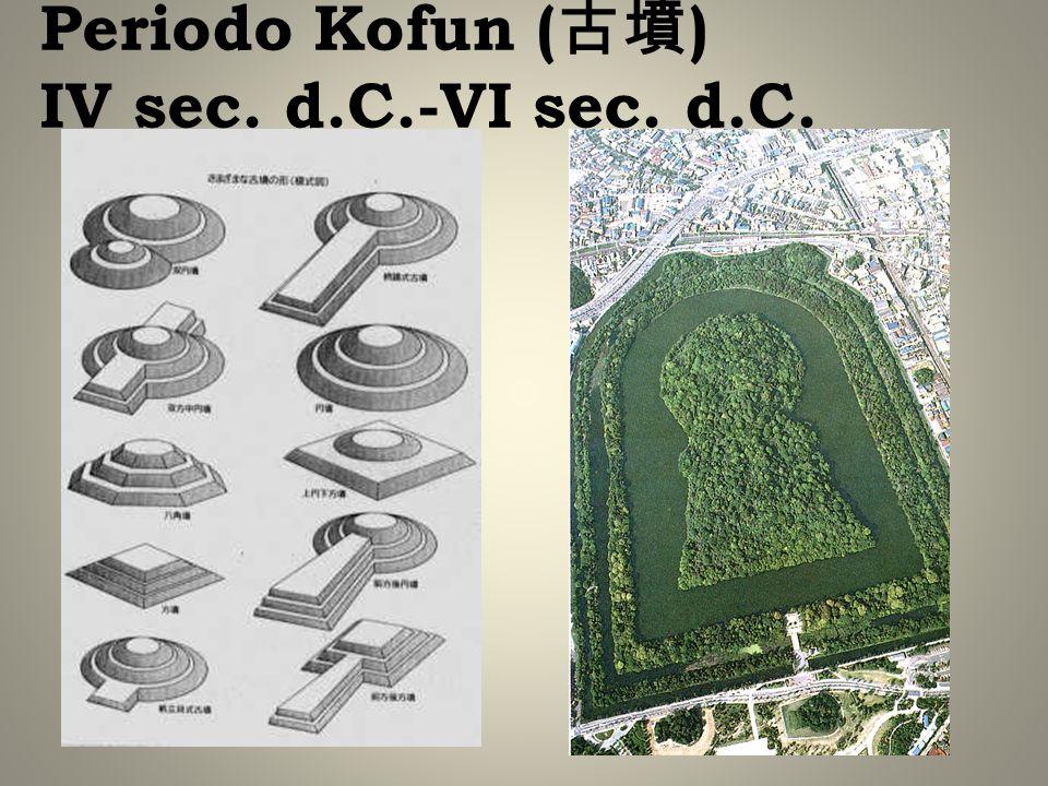 Periodo Kofun ( ) IV sec. d.C.-VI sec. d.C.