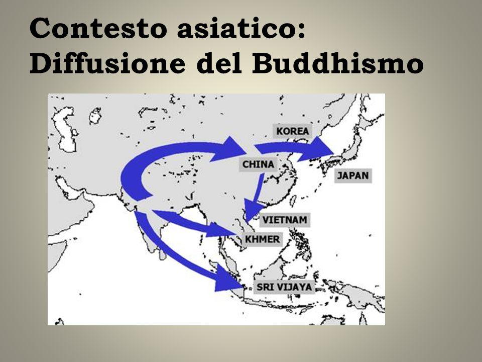 Contesto asiatico: Diffusione del Buddhismo