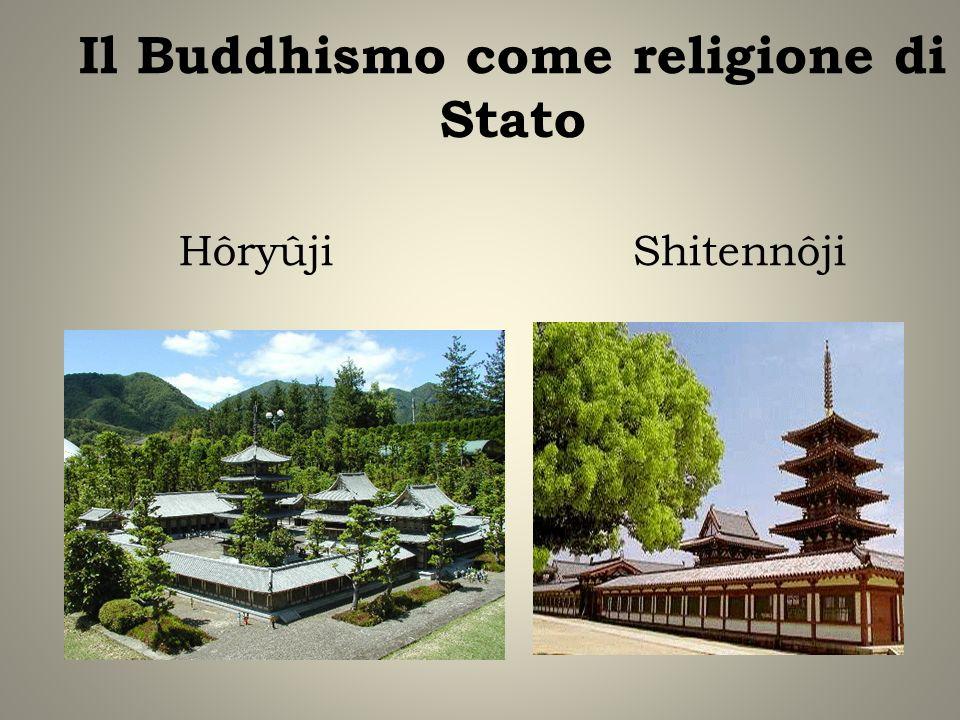 Il Buddhismo come religione di Stato Hôryûji Shitennôji