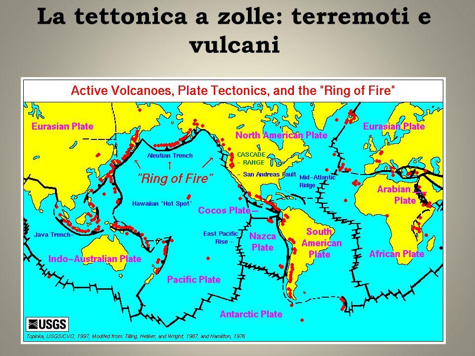 La tettonica a zolle: terremoti e vulcani