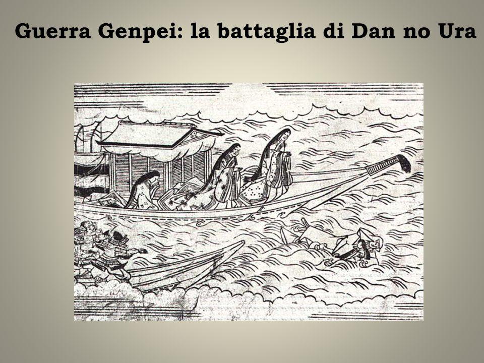Guerra Genpei: la battaglia di Dan no Ura