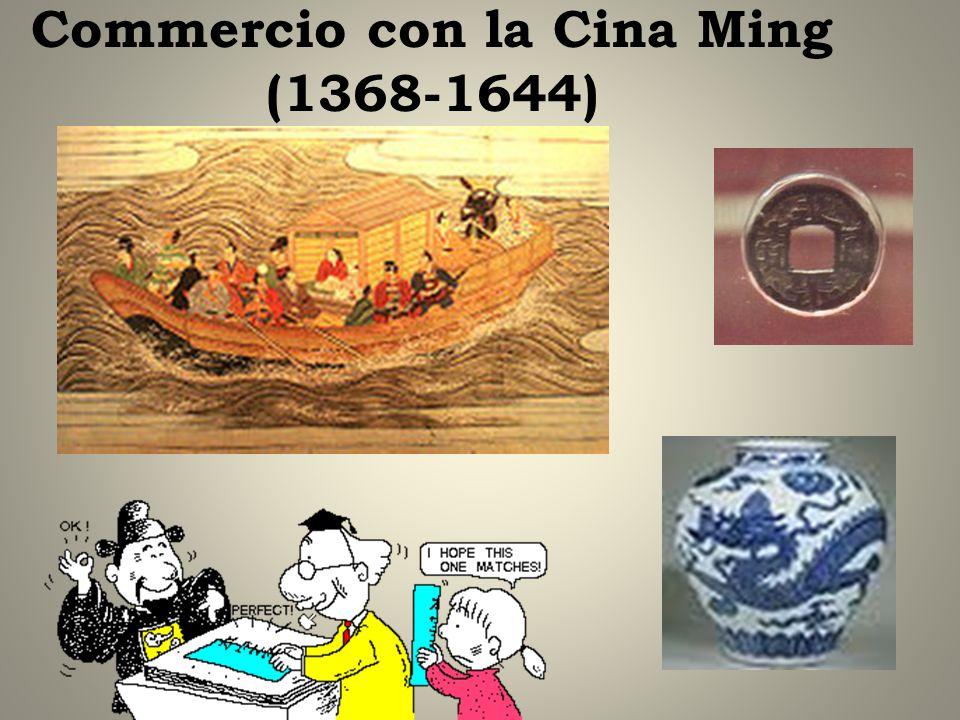 Commercio con la Cina Ming (1368-1644)
