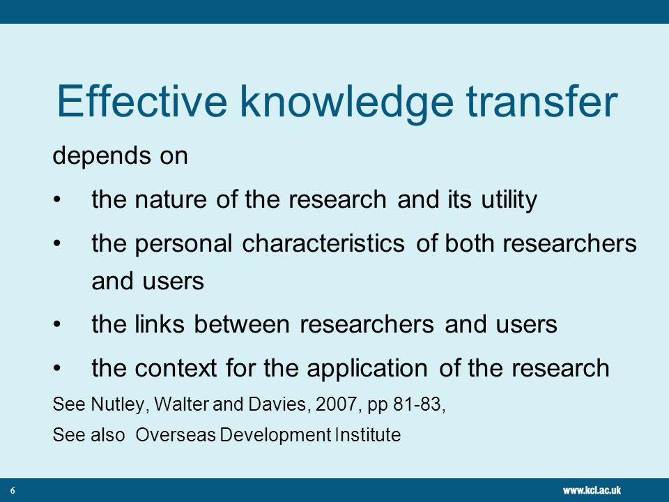 5 Models Linear – relay race Relationship – two communities Systems – co- production Research briefings Joint research projects Advisory groups