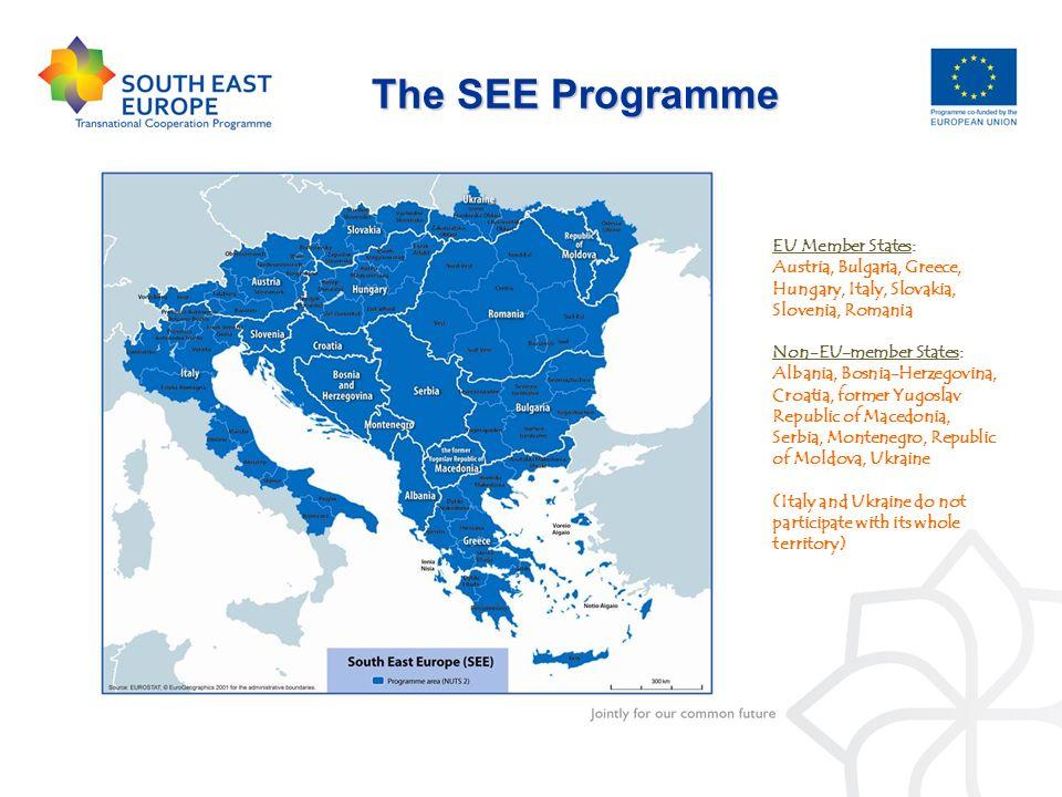 EU Member States: Austria, Bulgaria, Greece, Hungary, Italy, Slovakia, Slovenia, Romania Non-EU-member States: Albania, Bosnia-Herzegovina, Croatia, f