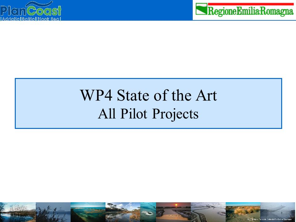 WP4 State of the Art All Pilot Projects