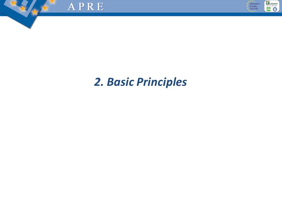 2. Basic Principles