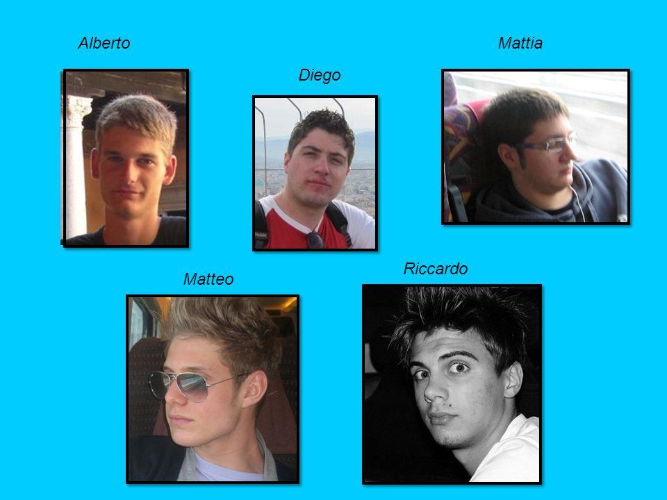 Mattia Matteo Riccardo Alberto Diego
