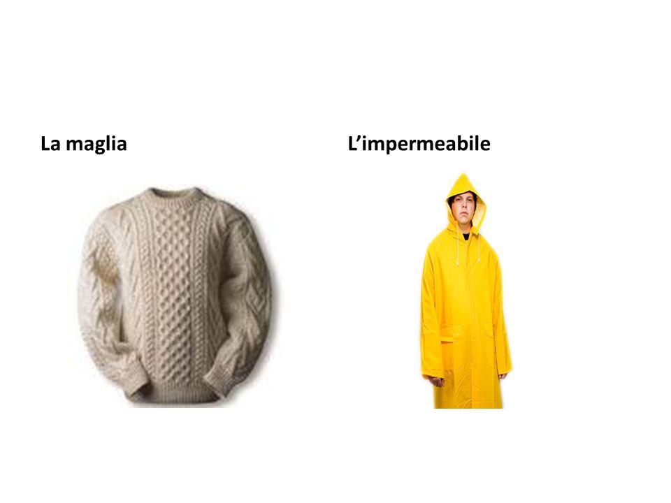 La magliaLimpermeabile