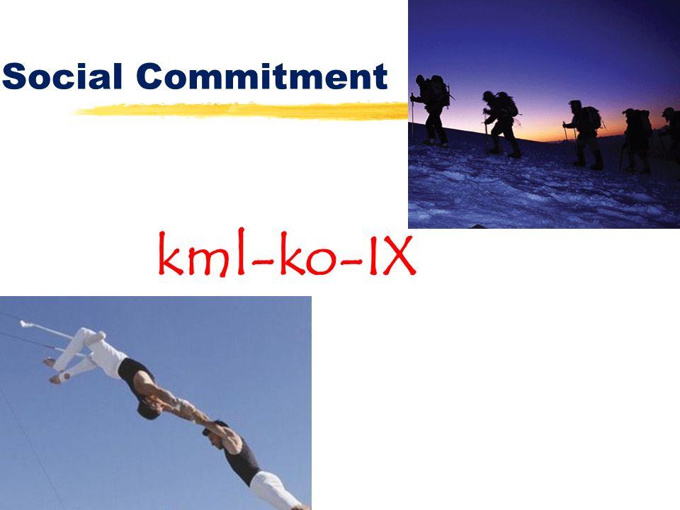 Social Commitment kml-ko-IX