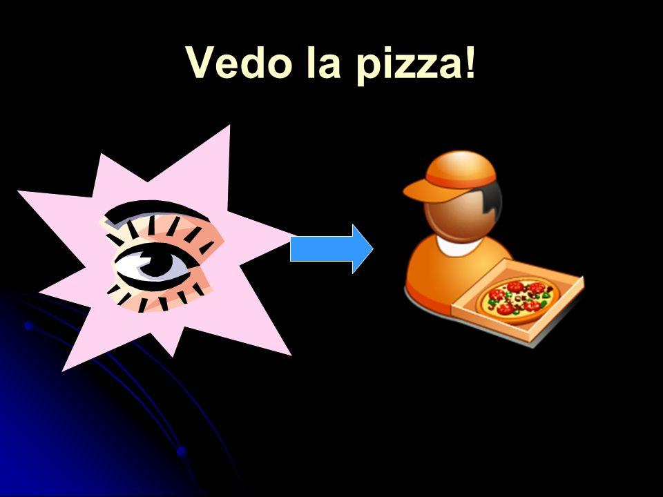 Vedo la pizza!