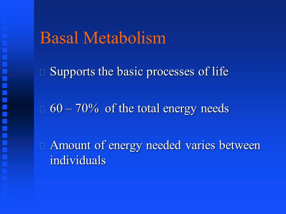 Conversion Efficiency: Food to Usable Energy 40% used to make high energy phosphate bonds 60% lost (?) as heat