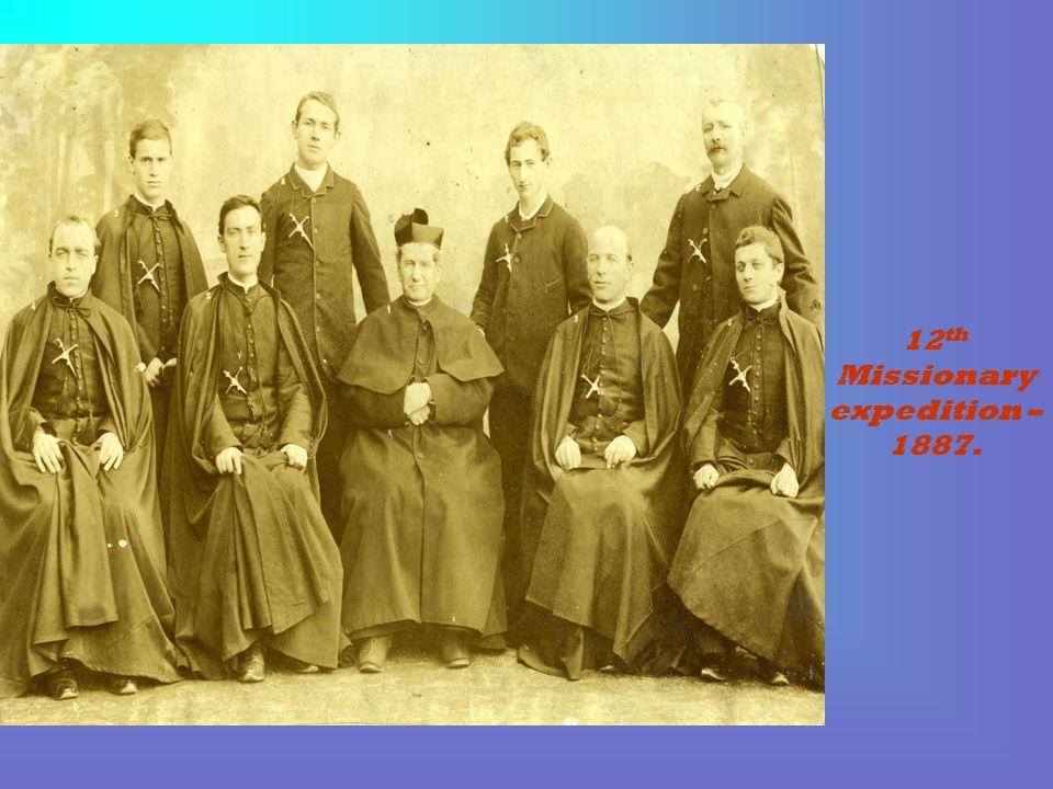 Don Bosco in Barcelona (Spain) in 1886.