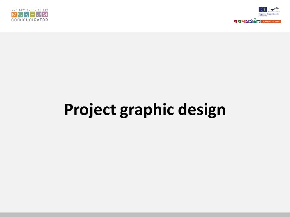 Project graphic design