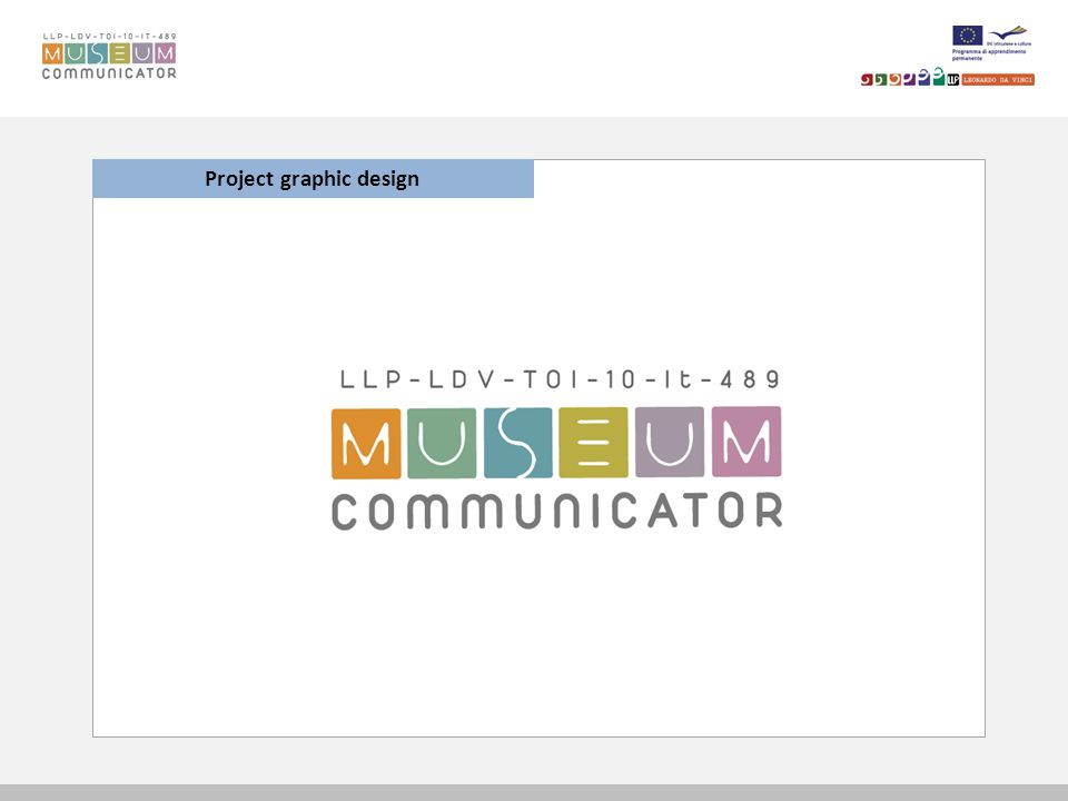 Courseware Museum Communicator FORUM Create a new topic: -The user has to provide a title and text -Then click on send to save and insert the post