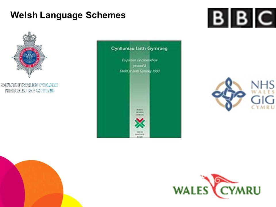 Welsh Language Schemes