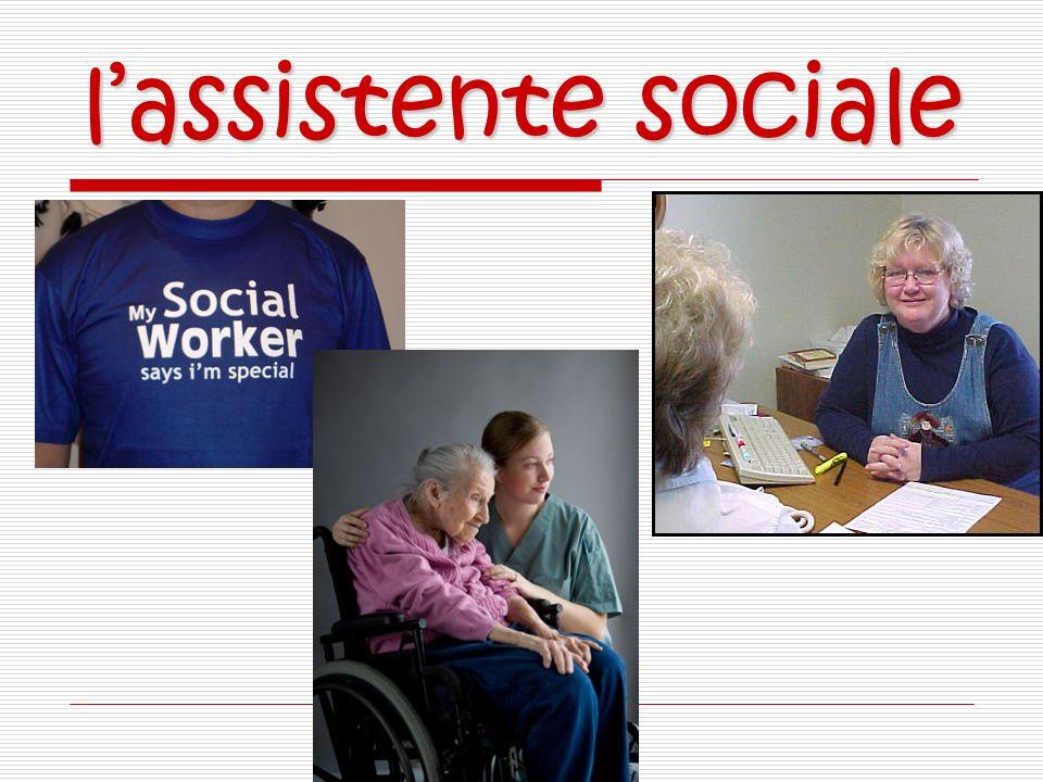 lassistente sociale