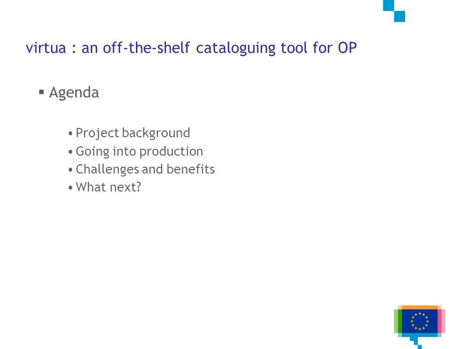 Metadata Register – Workflow overview