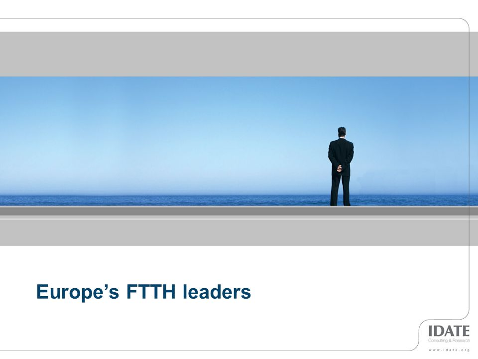 12 Europes FTTH leaders