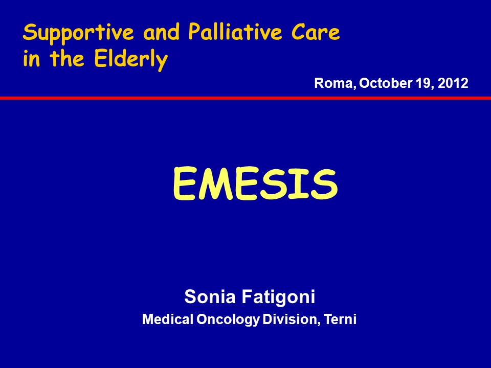 ANTIEMETICS IN THE ELDERLY - Finally, the drug –drug interactions are not so important for the 5-HT3 antagonists - Instead, concerning aprepitant...........