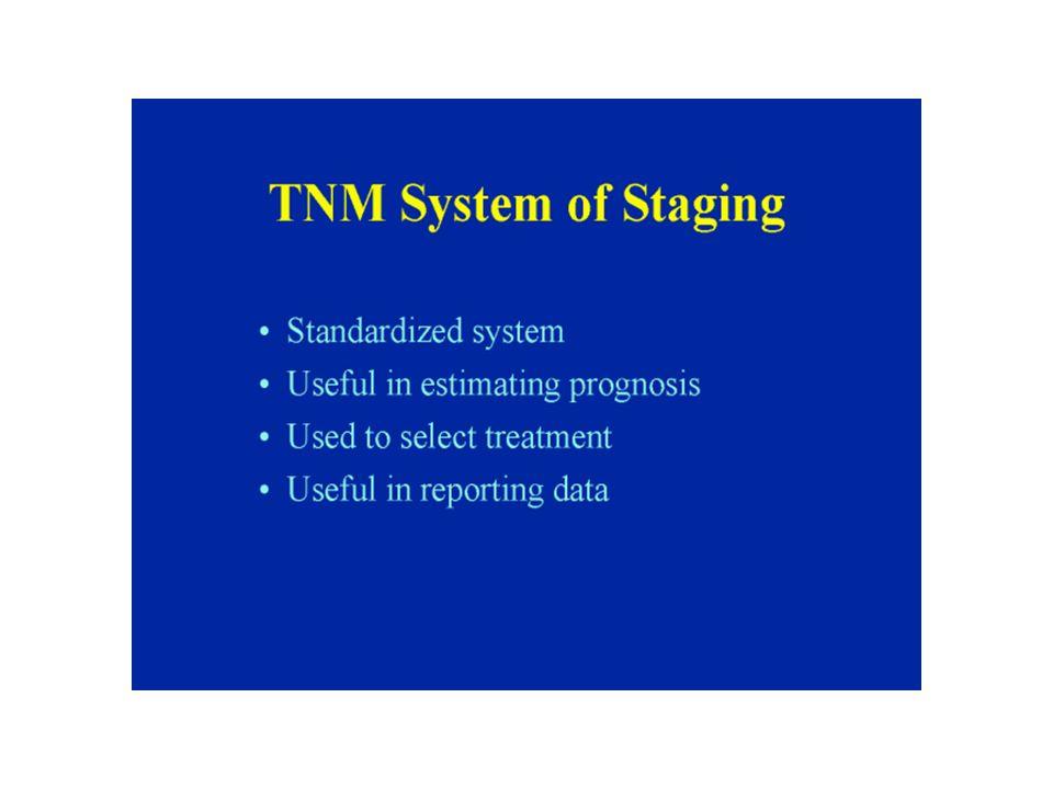 TNM Clinical cTNM or TNM Pathologic pTNM Retreatment rTNM Autopsy aTNM