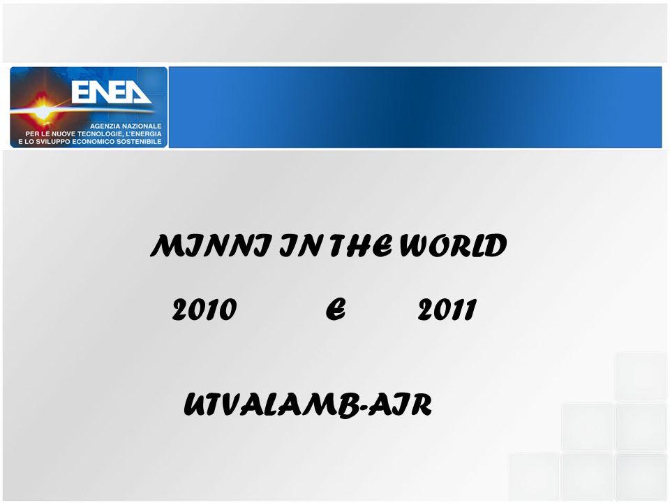 MINNI IN THE WORLD 2010 E 2011 UTVALAMB-AIR