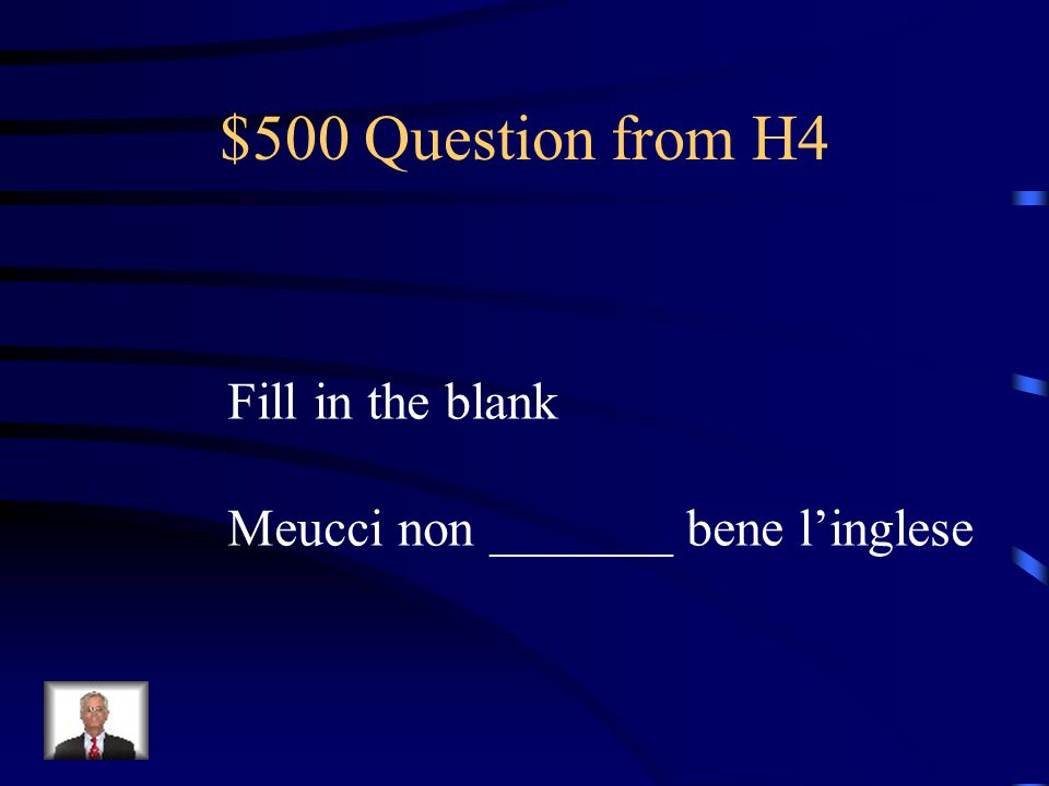$400 Answer from H4 Mandare, inviare