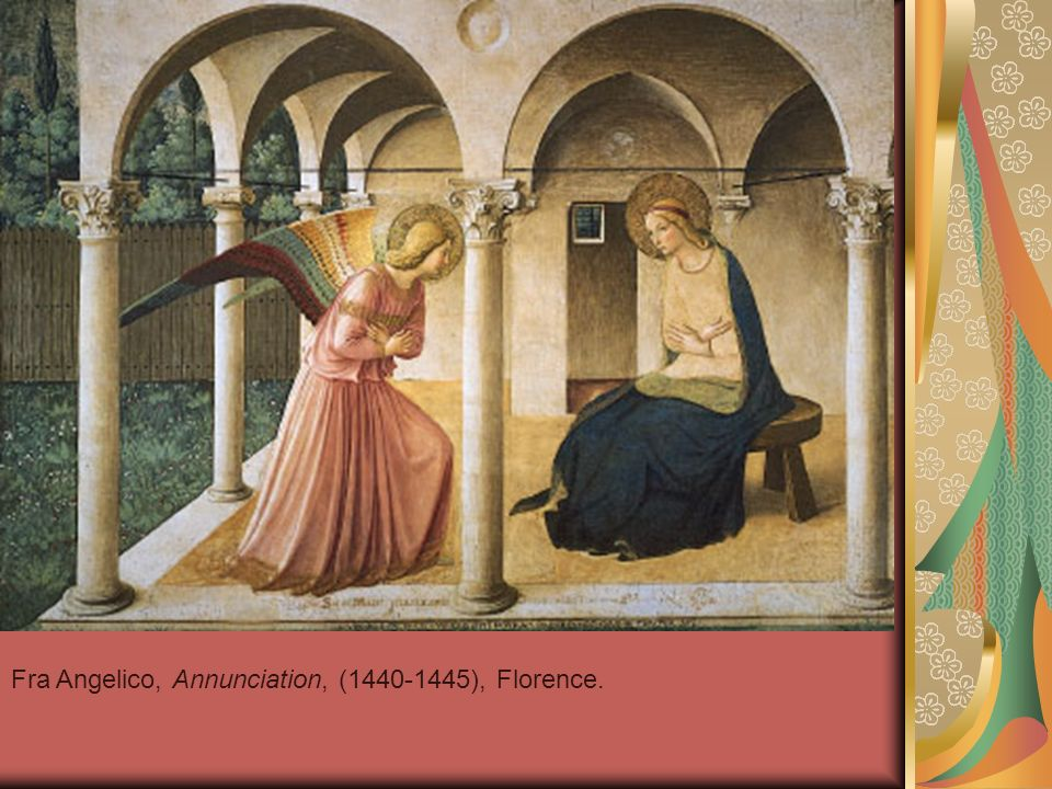Fra Angelico, Annunciation, (1440-1445), Florence.